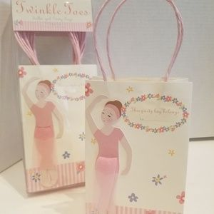 Twinkle Toes 12 Ballet Girl Party Bags